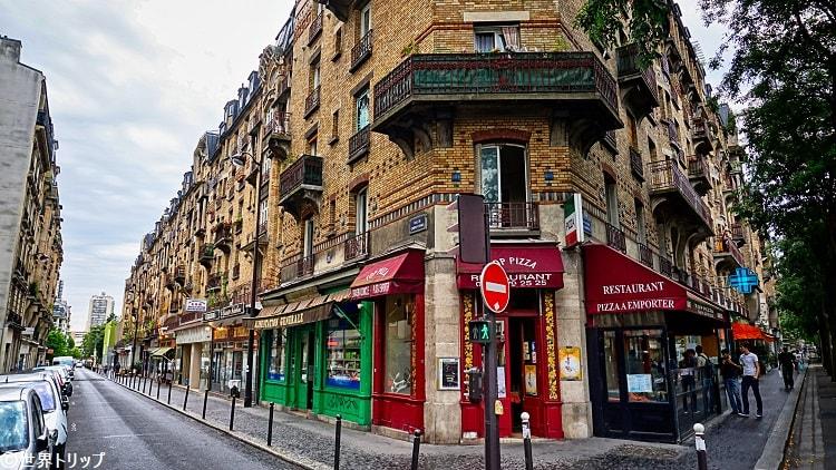 カンポ・フォルミオ通り(Rue de Campo-Formio)