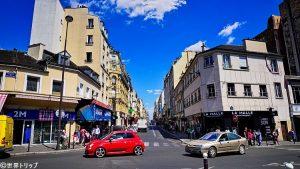 クリニャンクール通り(Rue de Clignancourt)