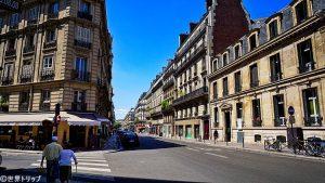 モーボウジュ通り(Rue de Maubeuge)