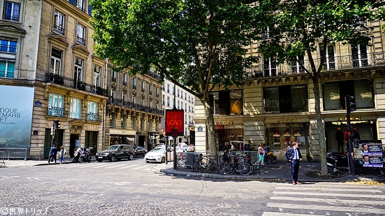 サントノーレ通り(Rue Saint Honoré)