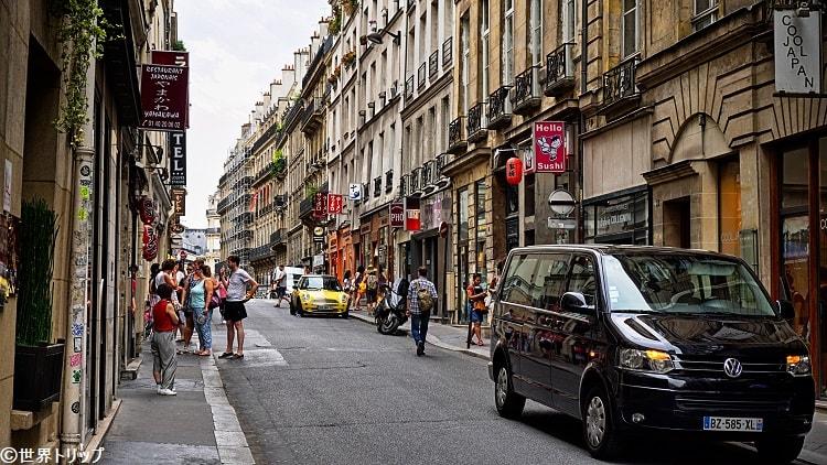 サン・タンヌ通り(Rue Sainte-Anne)