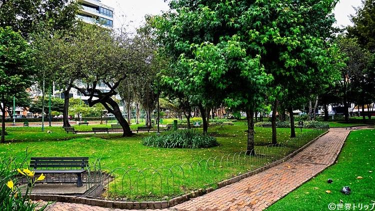 エル・ノガル公園(Parque El Nogal)