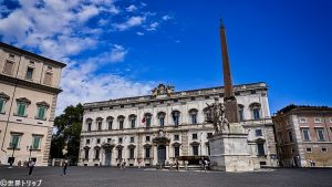 クイリナレ広場(Piazza del Quirinale)