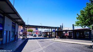 カシーリャス(Cacilhas)の港付近