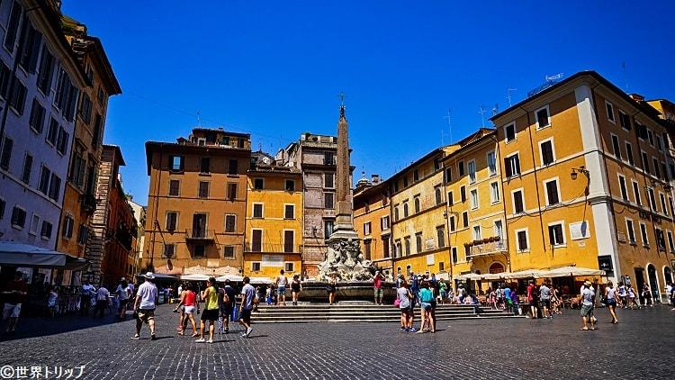 パンテオンの噴水(Fontana del Pantheon)
