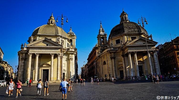 ポポロ広場(Piazza del Popolo)