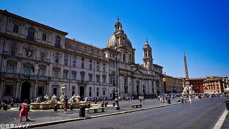ナヴォーナ広場(Piazza Navona)