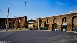 ラビカノ広場(Piazzale Labicano)