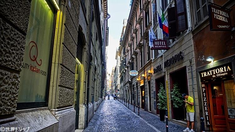 アヴィニョネジ通り(Via degli Avignonesi)