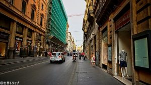 トリトーネ通り(Via del Tritone)