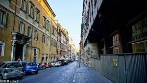 クアットロ・フォンターネ通り(Via delle Quattro Fontane)