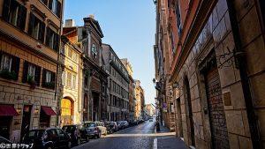 リペッタ通り(Via di Ripetta)