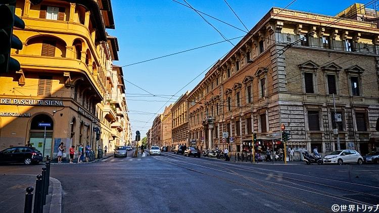 ナポレオーネ III通り(Via Napoleone III)