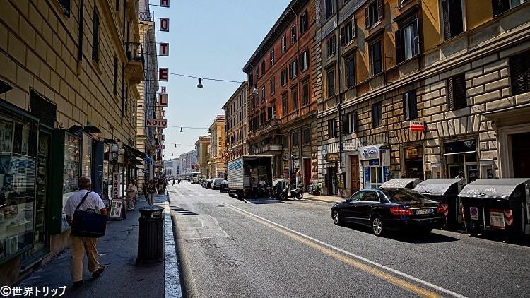 ヴォルトゥルノ通り(Via Volturno)