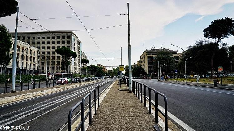 アヴェンティノ通り(Viale Aventino)