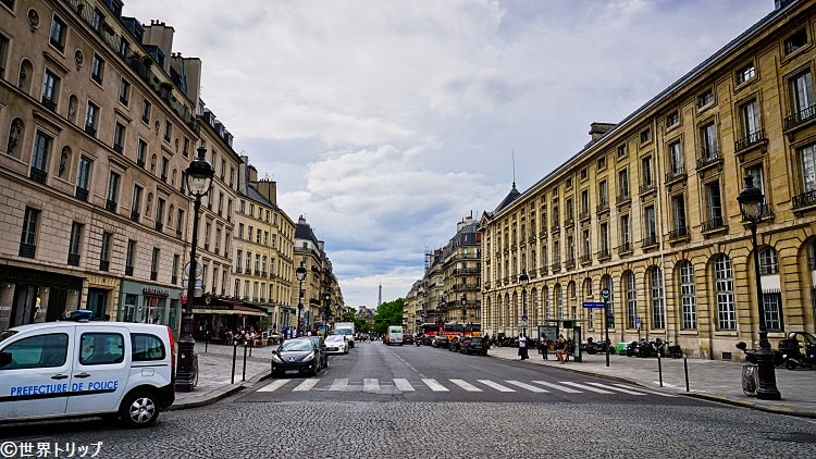 スフロ通り(Rue Soufflot)