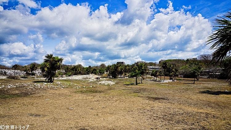 トゥルム遺跡(Ruinas de Tulum)の景色