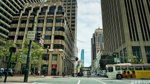 サンフランシスコの街並み(1st Street)