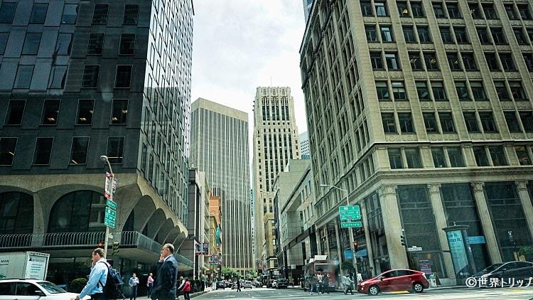 サンフランシスコの金融街