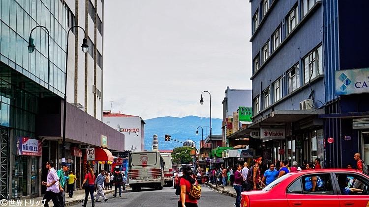 コカ・コラ(Coca Cola)地区の入口付近