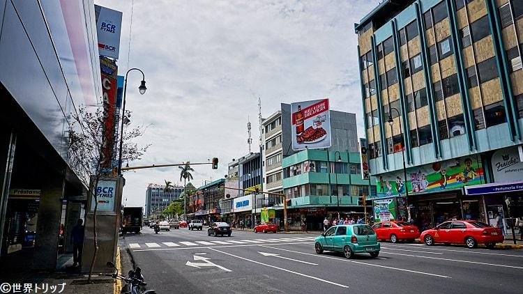 2通り(Calle4付近)