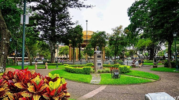 モラサン公園(Parque Morazán)
