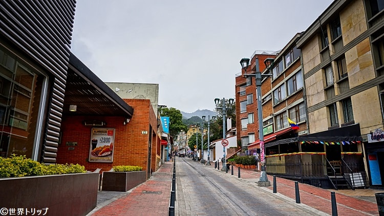 ウサケンのマクドナルド付近(Calle118)