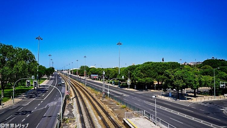 ベレン駅周辺の景色