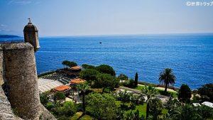 モナコ海洋博物館付近から見た景色