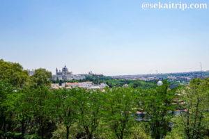 デボー聖堂付近からの景色