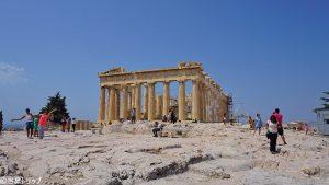 パルテノン神殿の後ろ側