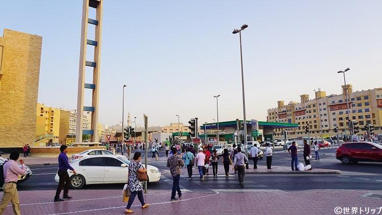 アル・グバイバ(Al Ghubaiba)駅周辺