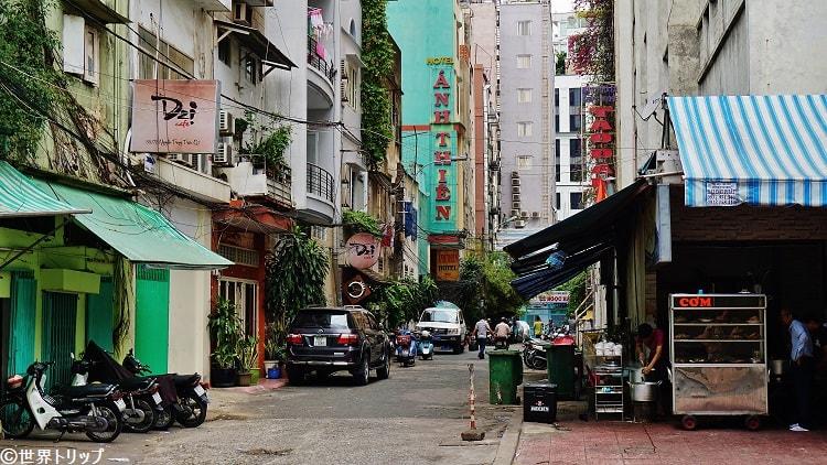 Anh Thien Hotel付近