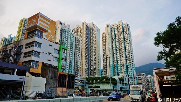 長沙灣站(Cheung Sha Wan Station)周辺