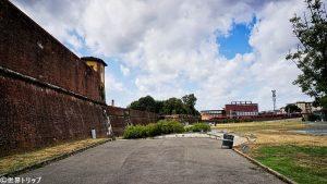 バッソ要塞(Fortezza da Basso)付近