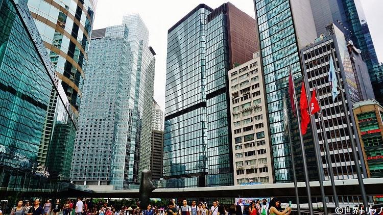 香港站周辺