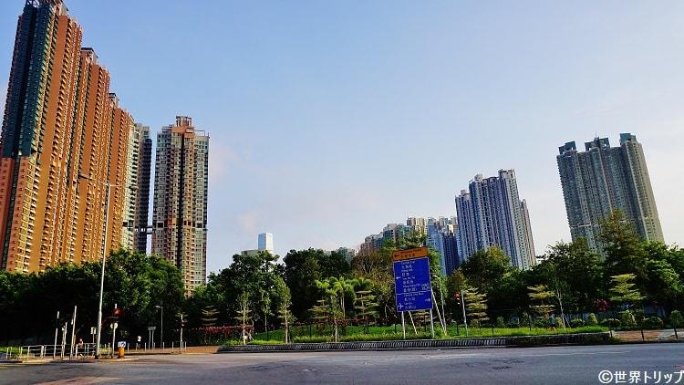 南昌公園(Nam Cheung Park)周辺