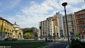 サン・ジョアキモ広場(Piazza San Gioachimo)付近