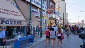 ピレウス(Piraeus)港付近