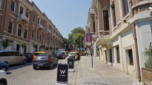 5つ星ホテル「W Istanbul」付近