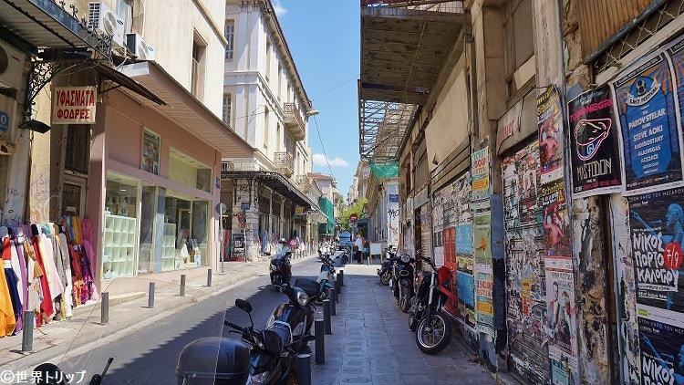Athinaidos通り