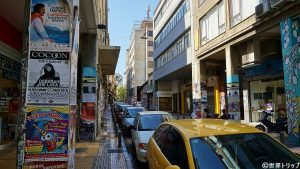 Miaouli通り