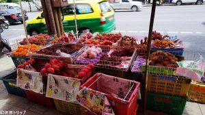 バンコクで見つけたフルーツの屋台