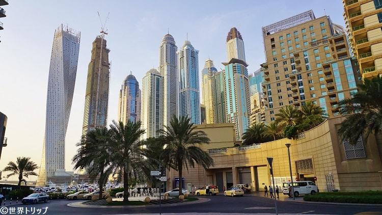 ドバイ・マリーナ(Dubai Marina)の高層ビル群