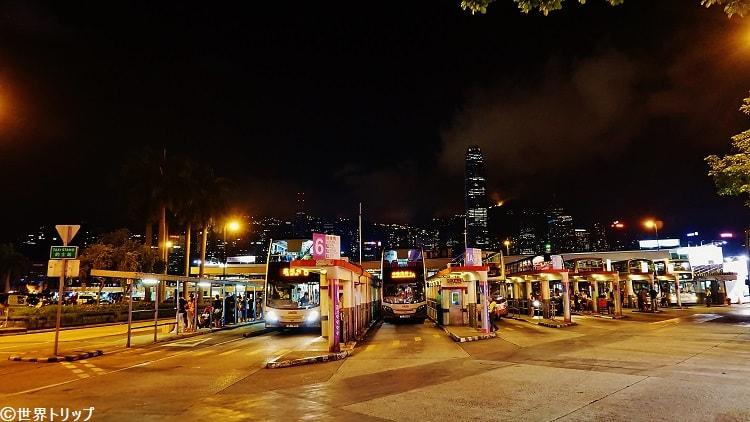 バスターミナル(尖沙咀碼頭)