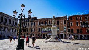 サント・ステファノ広場(Campo Santo Stefano)