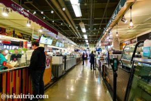 シカゴ・フレンチ・マーケット(Chicago French Market)の内部