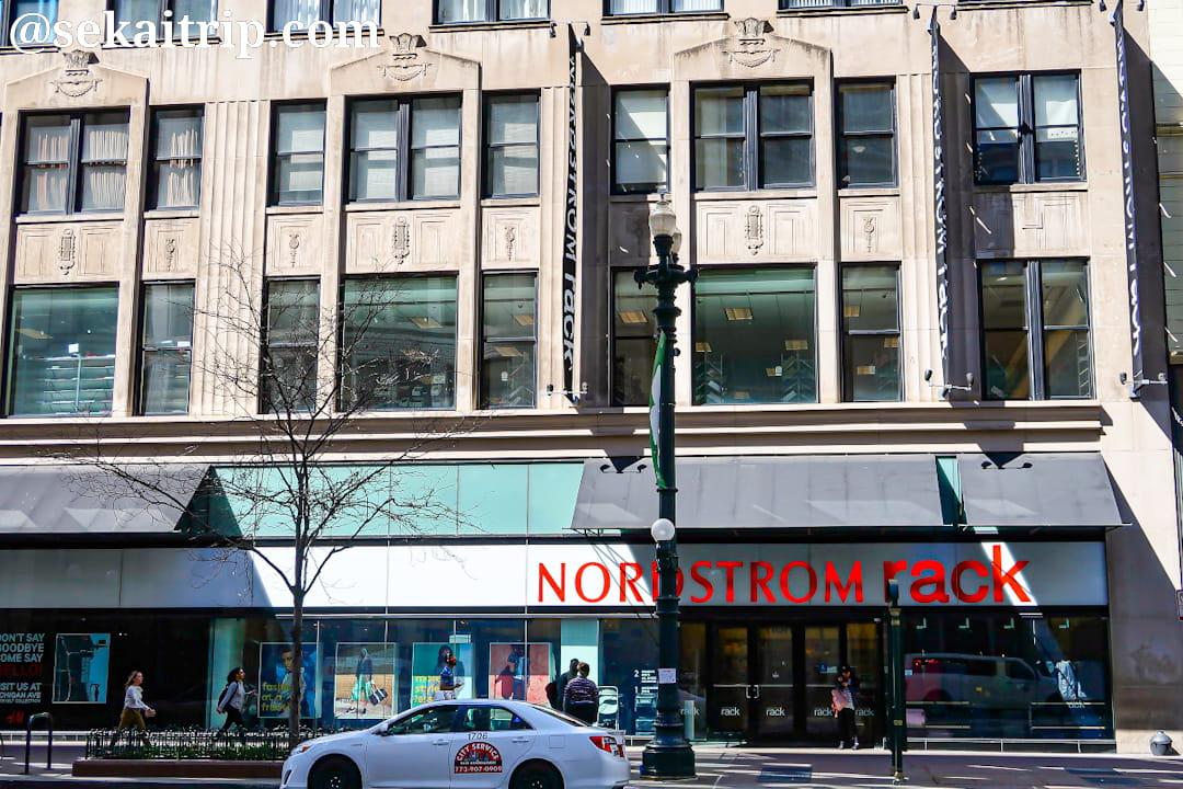 ノードストローム・ラック(Nordstrom Rack)のシカゴ店