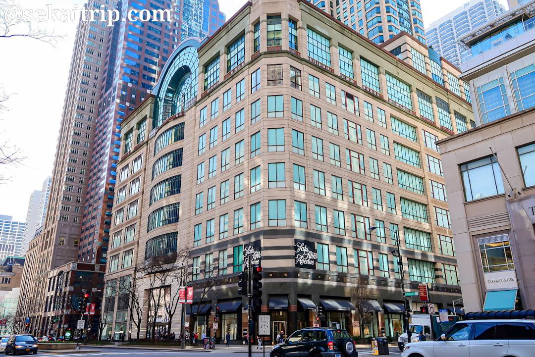 サックス・フィフス・アベニュー(Saks Fifth Avenue)のシカゴ店