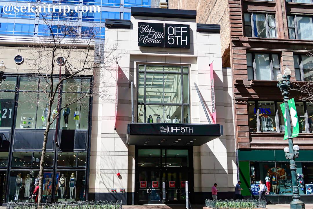 サックス・オフ・フィフス(Saks OFF 5TH)のシカゴ店